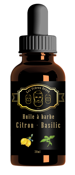 lemon basil beard oil
