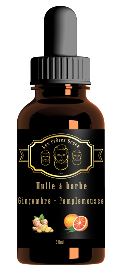 beard oil ginger grapefruit ginger