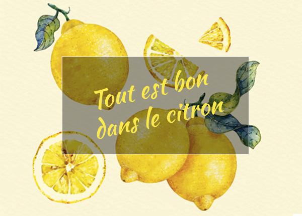 Les bienfaits de l'huile essentielle citron bio