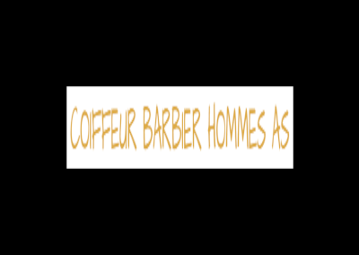 Coiffure Barbier Homme AS